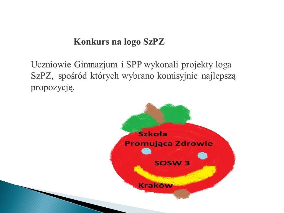 Konkurs na logo SzPZ Uczniowie Gimnazjum i SPP wykonali projekty loga SzPZ, spośród których wybrano komisyjnie najlepszą propozycję.