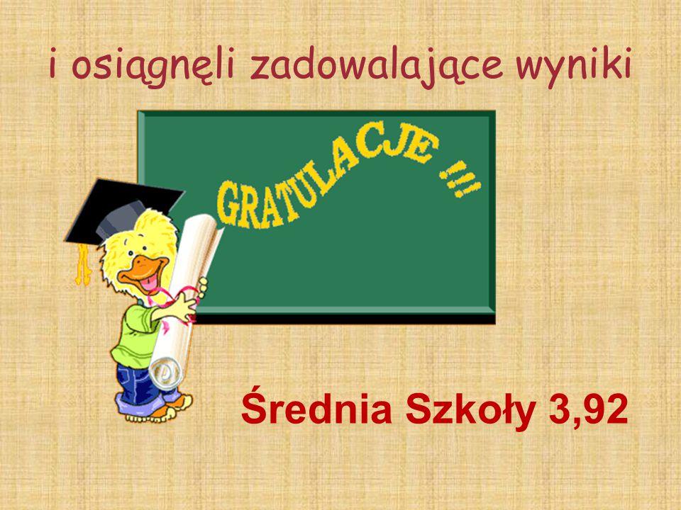 Nagrody za Zmagania z ortografią otrzymują: Michalina Jurewicz 2a Maja Mikołajczyk 2b Maciej Czajka 3a Adam Stefaniak 3b