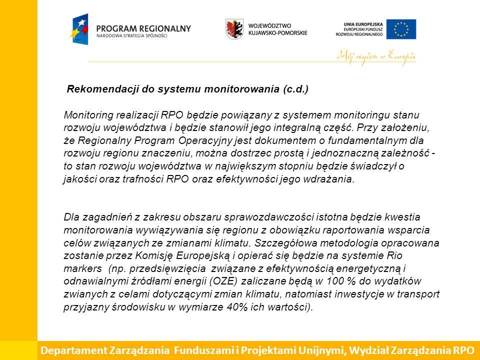 Prognoza oddziaływania na środowisko projektu Kujawsko-Pomorskiego Regionalnego Programu Operacyjnego na lata 2014-2020 zawiera także: - rekomendacje kierunkowe (ogólne) i szczegółowe dostosowane do charakteru Programu Operacyjnego rozwiązań mających na celu zapobieganie i ograniczanie negatywnych oddziaływań na środowisko, wynikających z realizacji programu; - propozycję rozwiązań alternatywnych do rozwiązań zawartych w projektowanym Programie wraz z uzasadnieniem ich wyboru oraz opis metod dokonania oceny prowadzącej do tego wyboru albo wyjaśnienie braku takich rozwiązań (art.