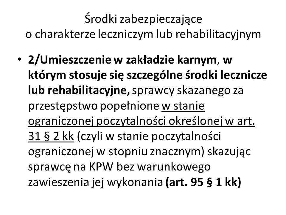 Rozporządzenie Ministra Zdrowia z 10.08.2004 w sprawie wykazu zakładów psychiatrycznych i zakładów leczenia odwykowego przeznaczonych do wykonywania środków zabezpieczających oraz składu, trybu powoływania i zadań komisji psychiatrycznej do spraw środków zabezpieczających (Dz.U, nr 179, poz.