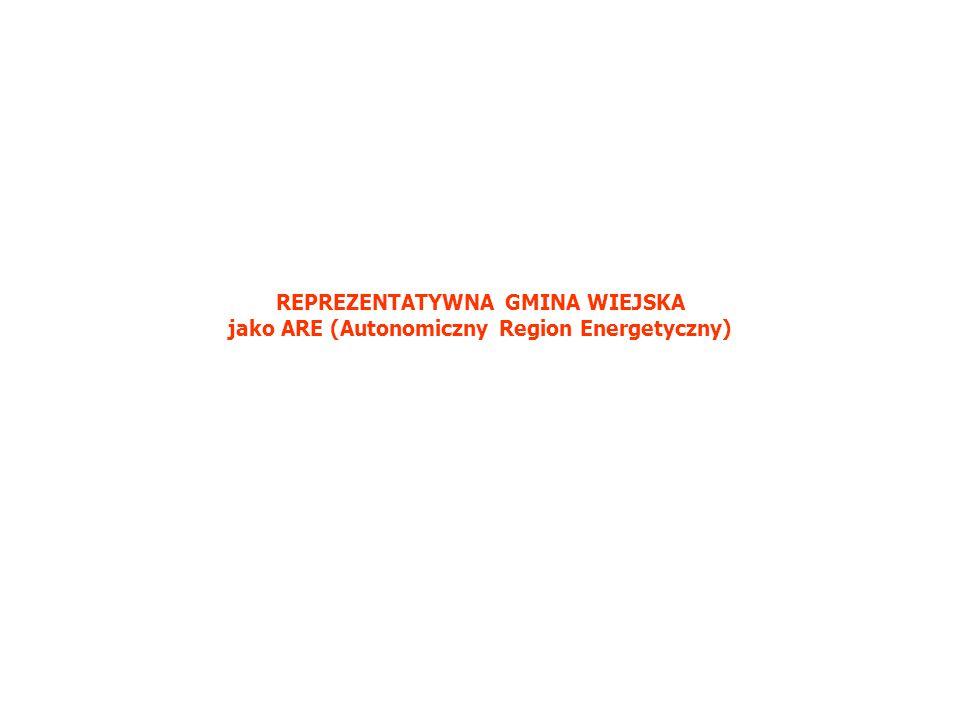REPREZENTATYWNA GMINA WIEJSKA jako ARE (Autonomiczny Region Energetyczny)