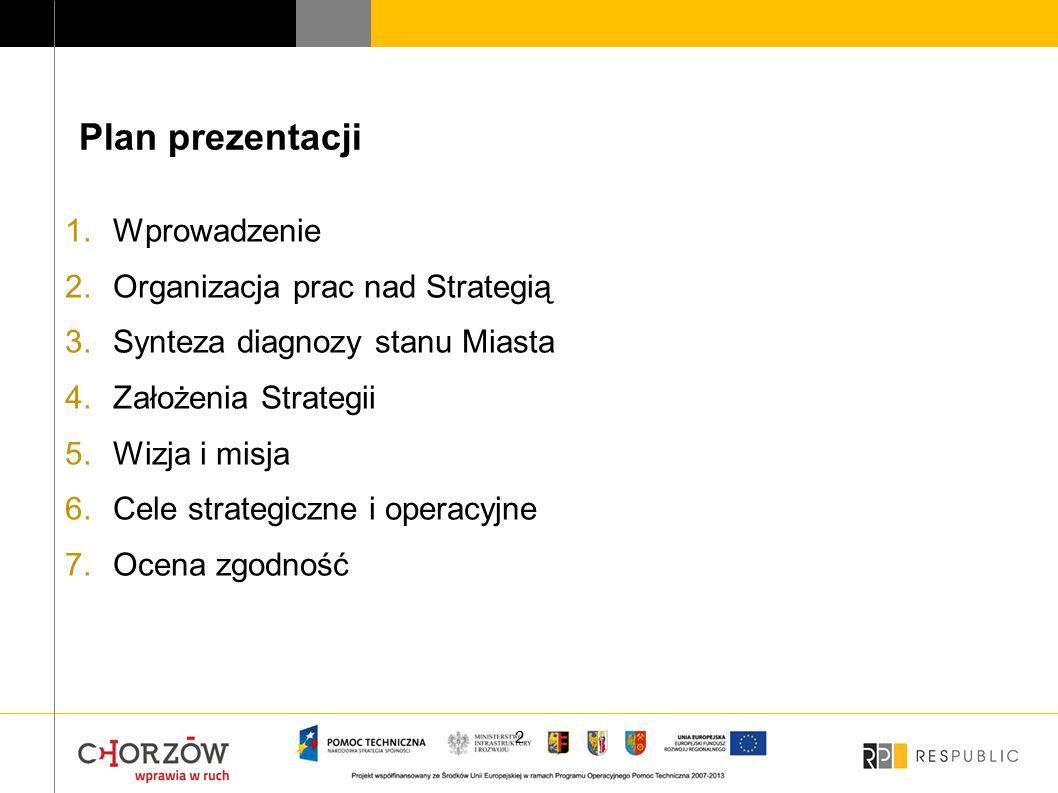 """Strategia Rozwoju Chorzowa do 2030 roku przygotowana jest w ramach projektu """"Zintegrowane podejście do problemów obszarów funkcjonalnych na przykładzie Chorzowa, Rudy Śląskiej i Świętochłowic Projekt jest współfinansowany przez Unię Europejską z Europejskiego Funduszu Rozwoju Regionalnego w ramach Regionalnego Programu Operacyjnego Pomoc Techniczna na lata 2007-2013 3"""