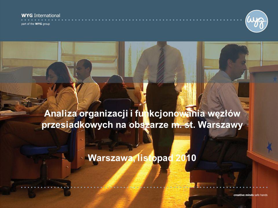 Introduction: The Company Analiza organizacji i funkcjonowania węzłów przesiadkowych na obszarze m.