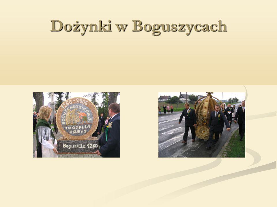 Dożynki w Boguszycach