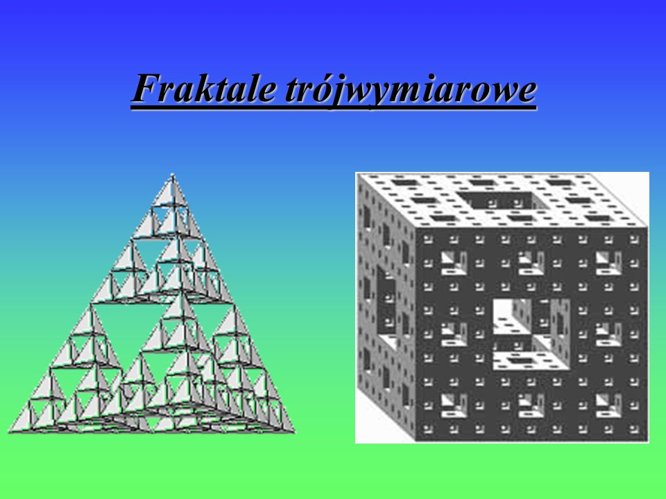 Fraktale trójwymiarowe