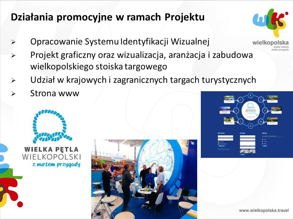 Działania promocyjne w ramach Projektu  Opracowanie Systemu Identyfikacji Wizualnej  Projekt graficzny oraz wizualizacja, aranżacja i zabudowa wielk