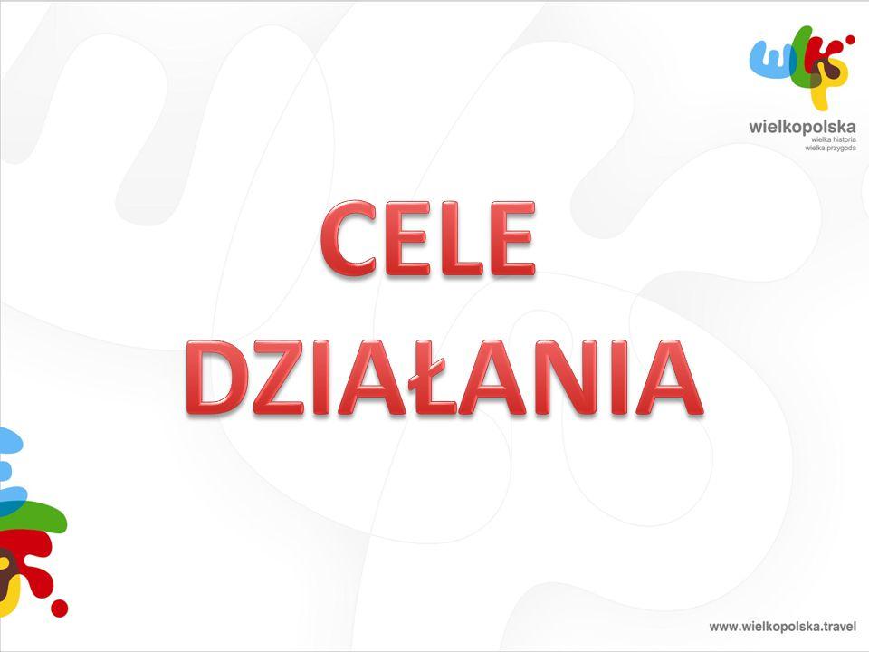 Główny cel: Kreowanie i upowszechnianie wizerunku województwa wielkopolskiego jako regionu atrakcyjnego turystycznie oraz promocja atrakcji, obiektów i produktów turystycznych