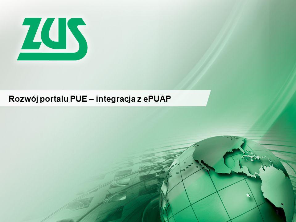 © 2012 Deloitte Projekt współfinansowany ze środków Unii Europejskiej w ramach Europejskiego Funduszu Społecznego 1 Rozwój portalu PUE – integracja z ePUAP