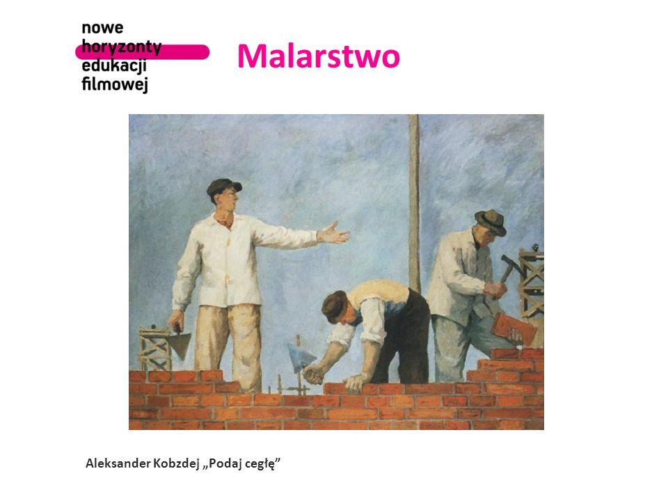 """Malarstwo Juliusz Studnicki """"Gertruda Wysocka – Przodownica Pracy"""