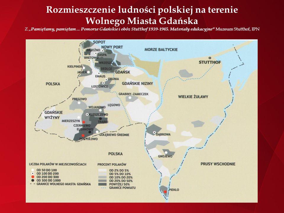 Polacy w Gdańsku 21 kwietnia 1921 powstała centralna organizacja Polonii w WMG - Gmina Polska w Wolnym Mieście Gdańsku z siedzibą przy ul.