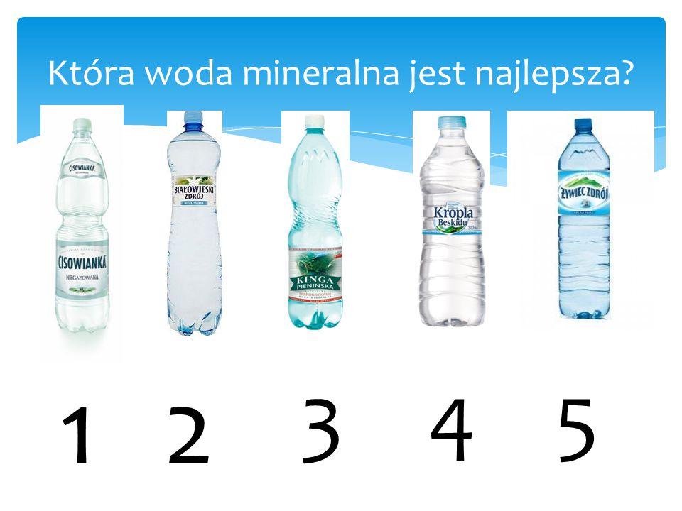 Doświadczenie: Odparowanie wody destylowanej, kranowej i mineralnej,,Cisowianka''.