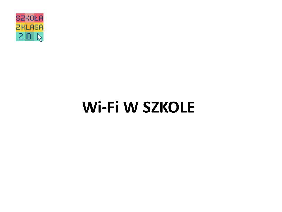 Wi-Fi W SZKOLE