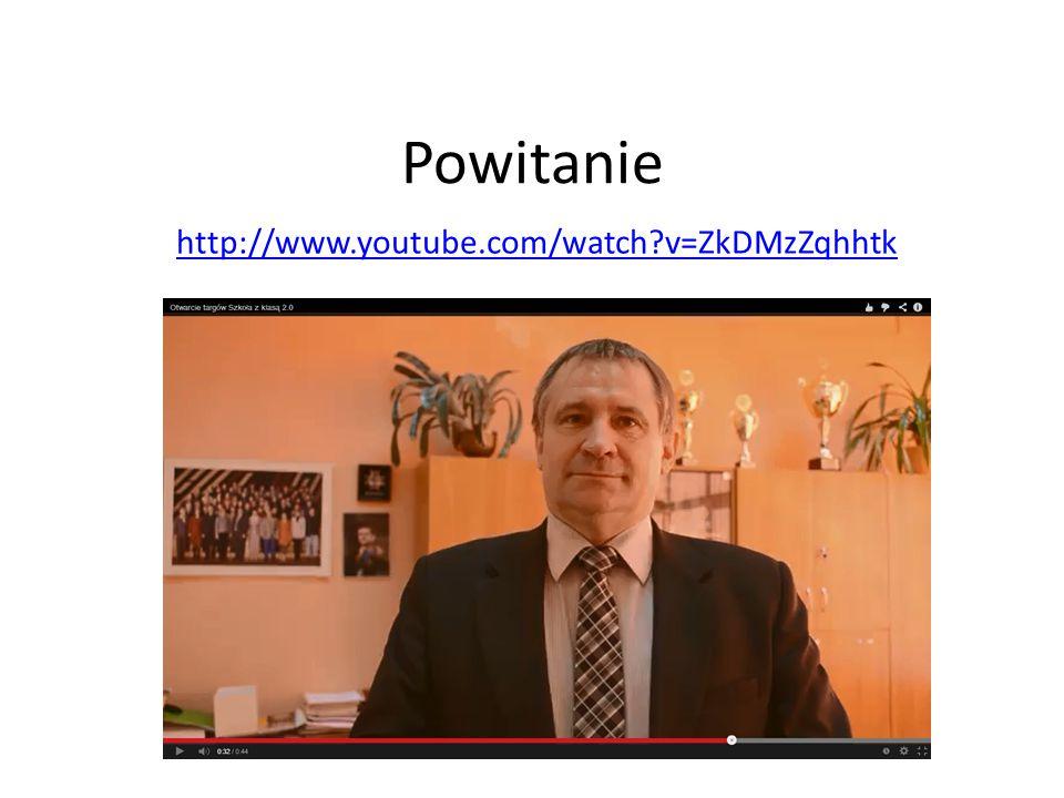 Powitanie http://www.youtube.com/watch?v=ZkDMzZqhhtk