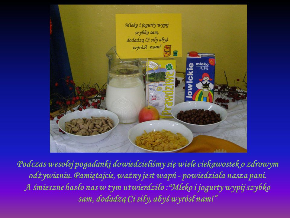 Bardzo ważne w odżywianiu są naturalne soki.Mają dużo witamin, a przy tym są smaczne i zdrowe.