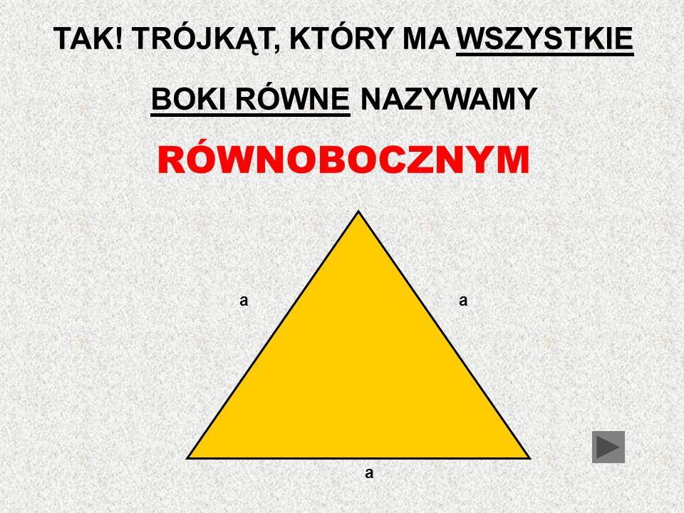 Przyjrzyj się trójkątowi przedstawionemu poniżej.