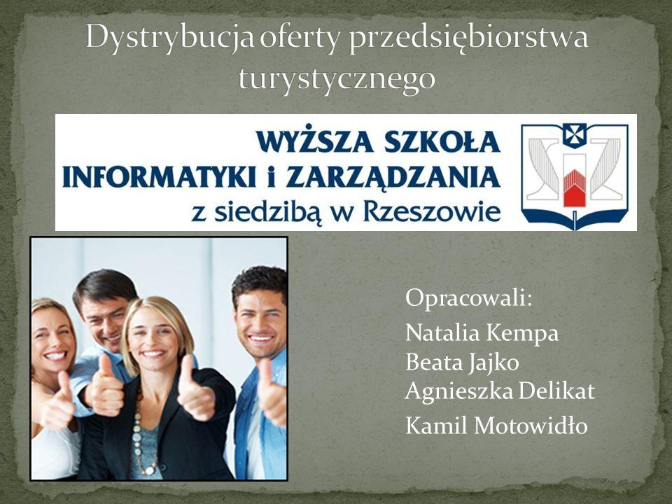 Opracowali: Natalia Kempa Beata Jajko Agnieszka Delikat Kamil Motowidło