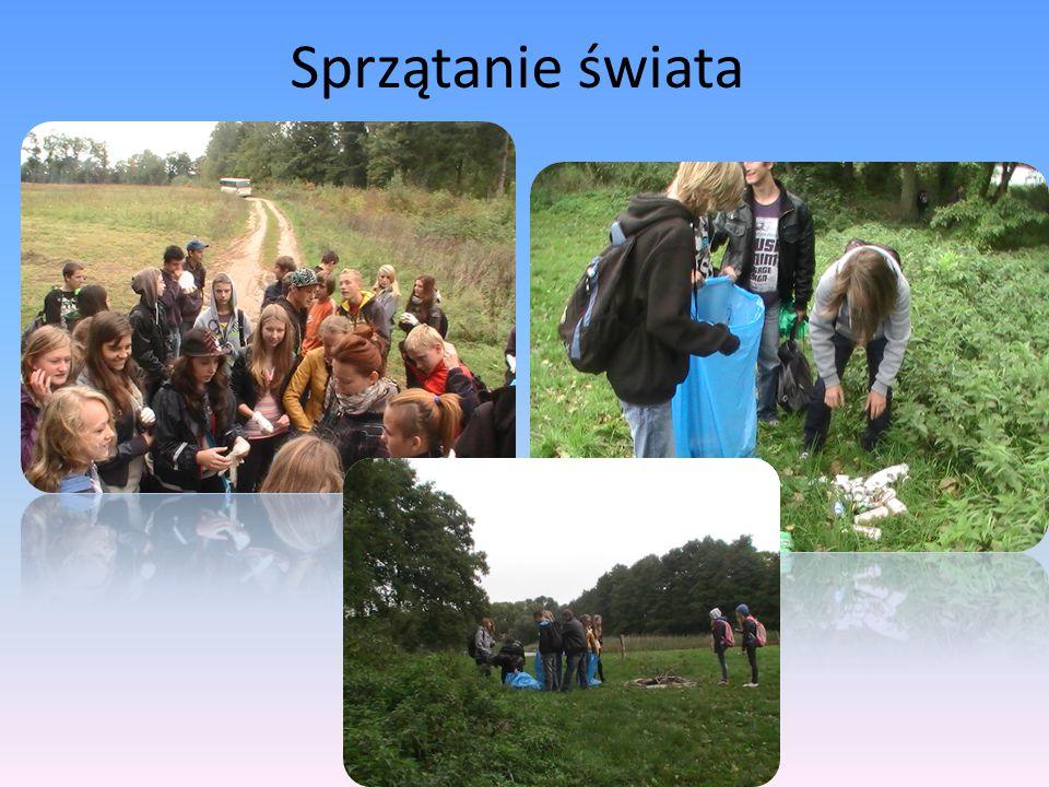 W ramach akcji Sprzątania Świata i Dnia Ziemi w br.