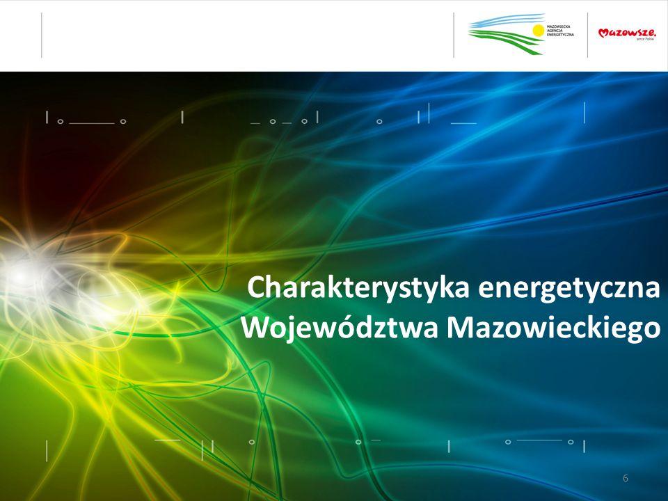 Charakterystyka energetyczna Województwa Mazowieckiego 6