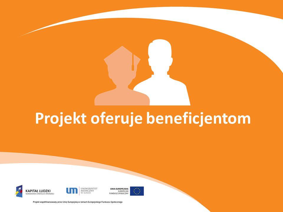 Projekt oferuje beneficjentom