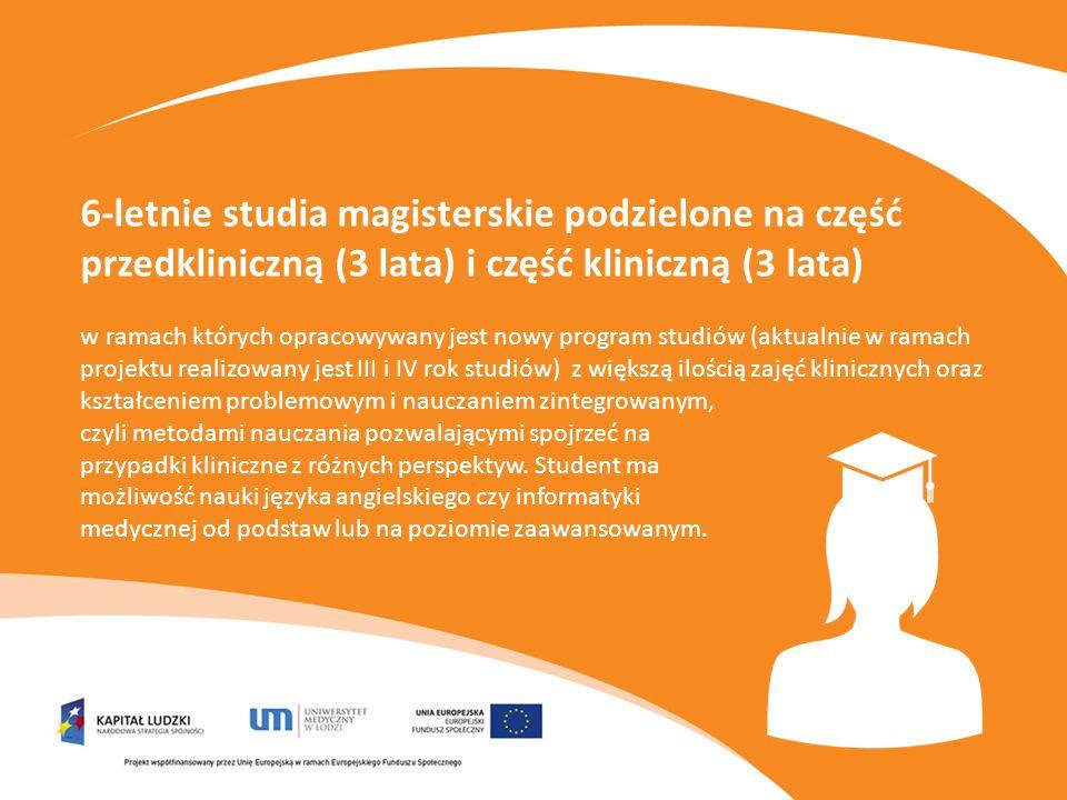 Interdyscyplinarne Studia Doktoranckie z zakresu medycyny i inżynierii medycznej mające na celu zwiększenie zakresu i potencjału absolwentów na dynamicznie zmieniającym się rynku pracy.