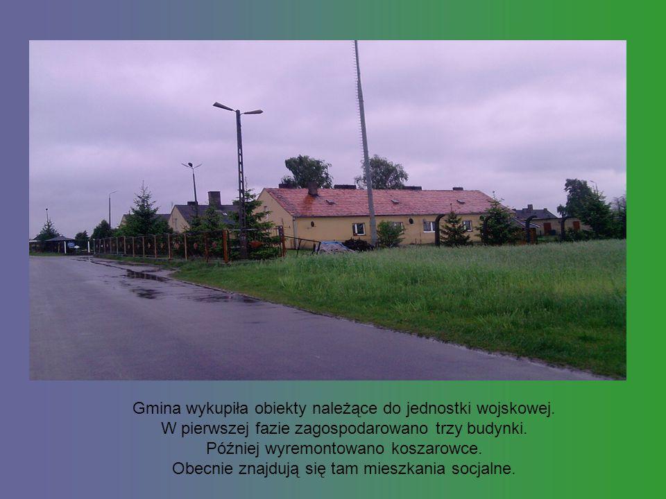 Gmina wykupiła obiekty należące do jednostki wojskowej.