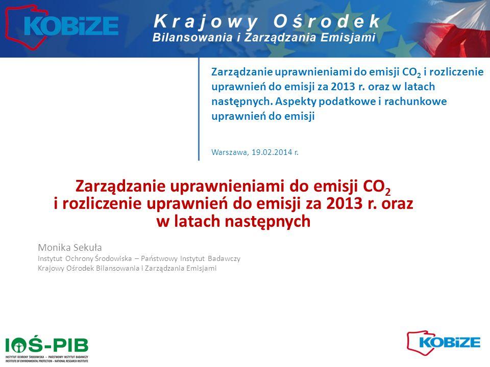 Średnia redukcja w okresie 2013-2020 Średnia redukcja dla instalacji spalającej węgiel, nienarażonej na ucieczkę emisji, bez uwzględnienia gospodarstw domowych Korekta ze względu na wskaźnik na produkcję ciepła ok.