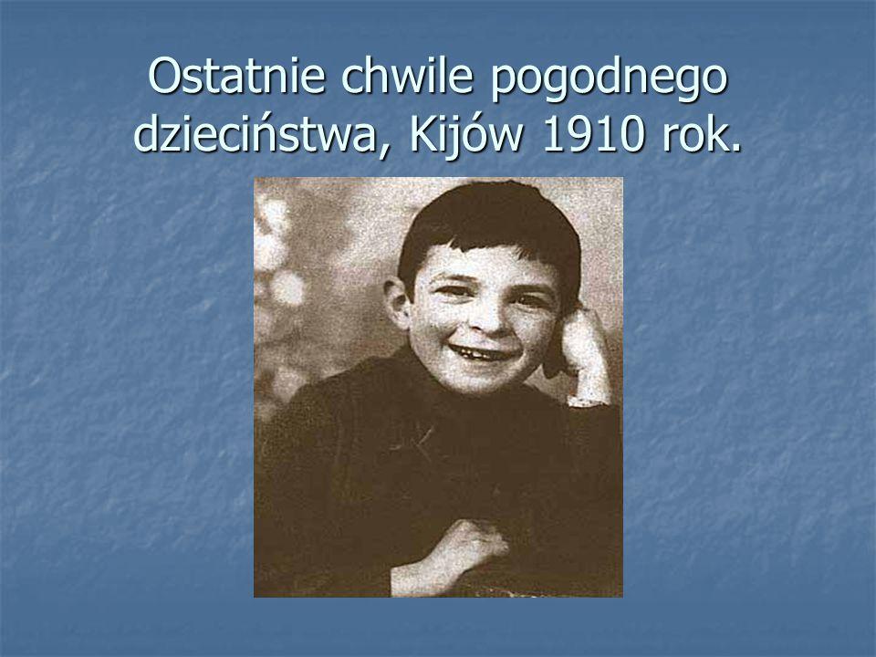 Od stycznia 1918 roku był członkiem 1.Męskiej Drużyny Skautowej im.