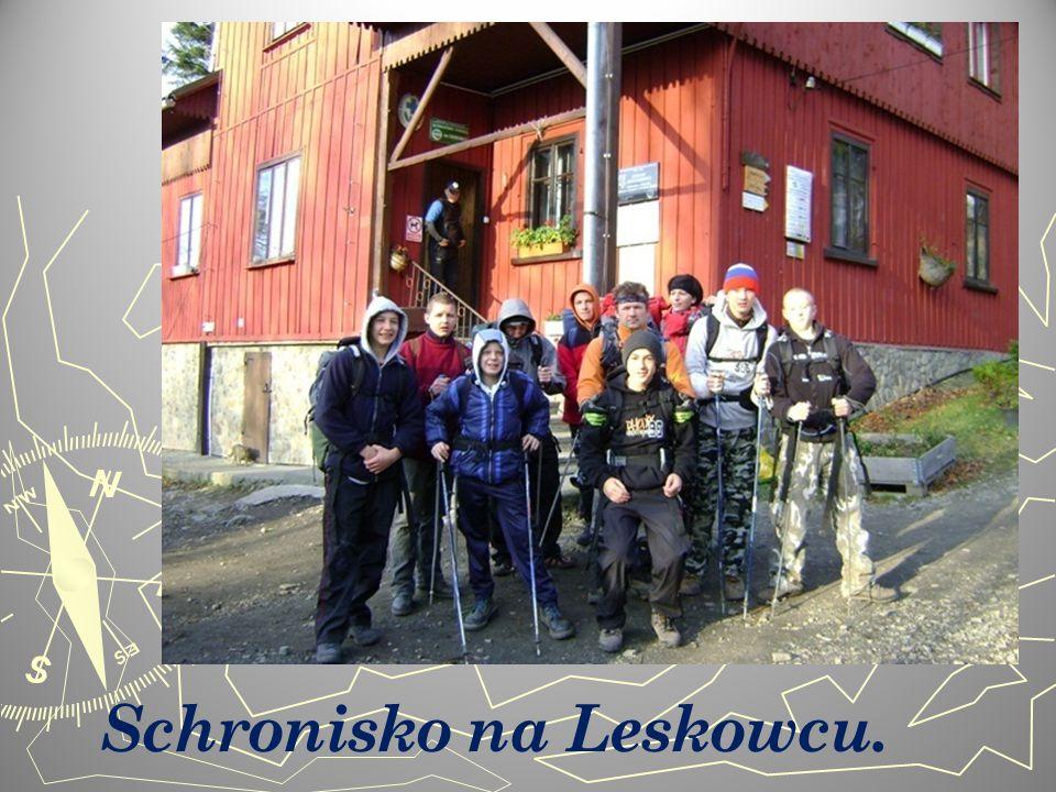 Schronisko na Leskowcu.