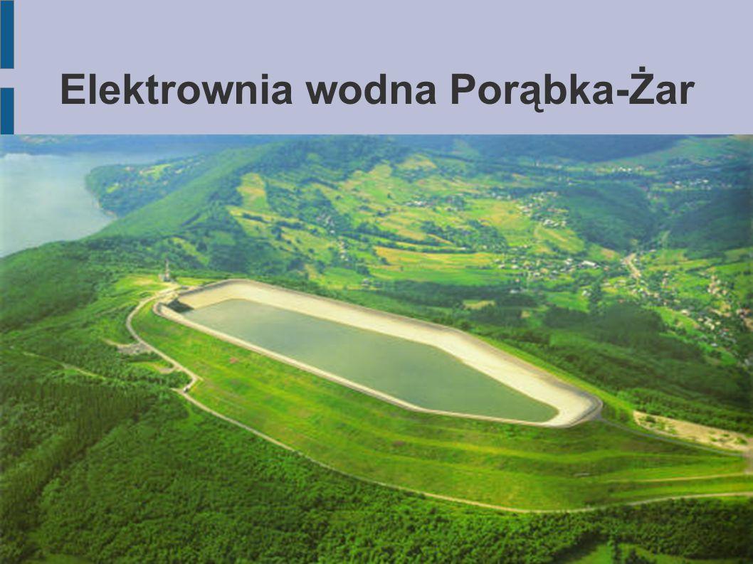 Elektrownia Porąbka-Żar Druga co do wielkości elektrownia szczytowo-pompowa w Polsce uruchomiona w 1979.