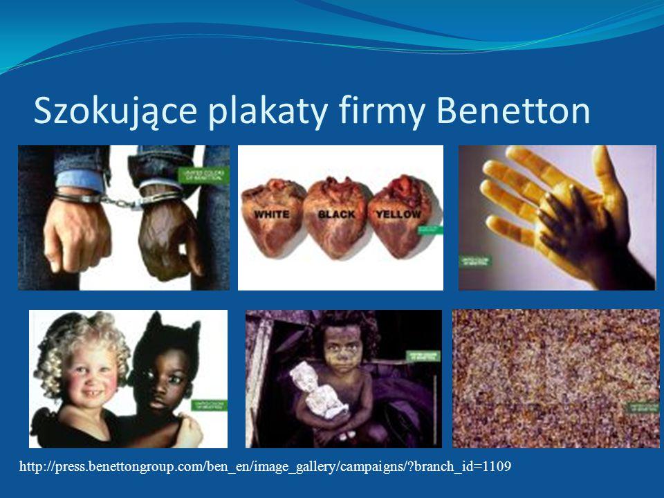 Elastyczny łańcuch dostaw – przykład firmy Benetton Niekonwencjonalny marketing – szokujące plakaty a co za tym idzie protesty, Trudność w przewidywan