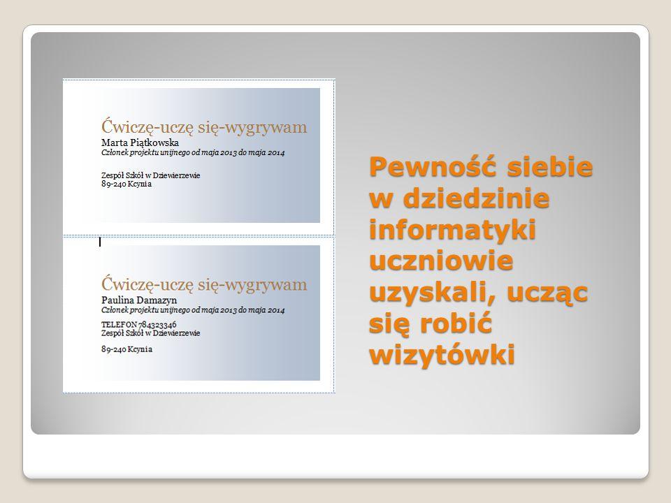 oraz foldery reklamujące właściwe zachowania
