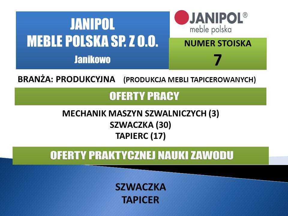JANIPOL MEBLE POLSKA SP.Z O.O.