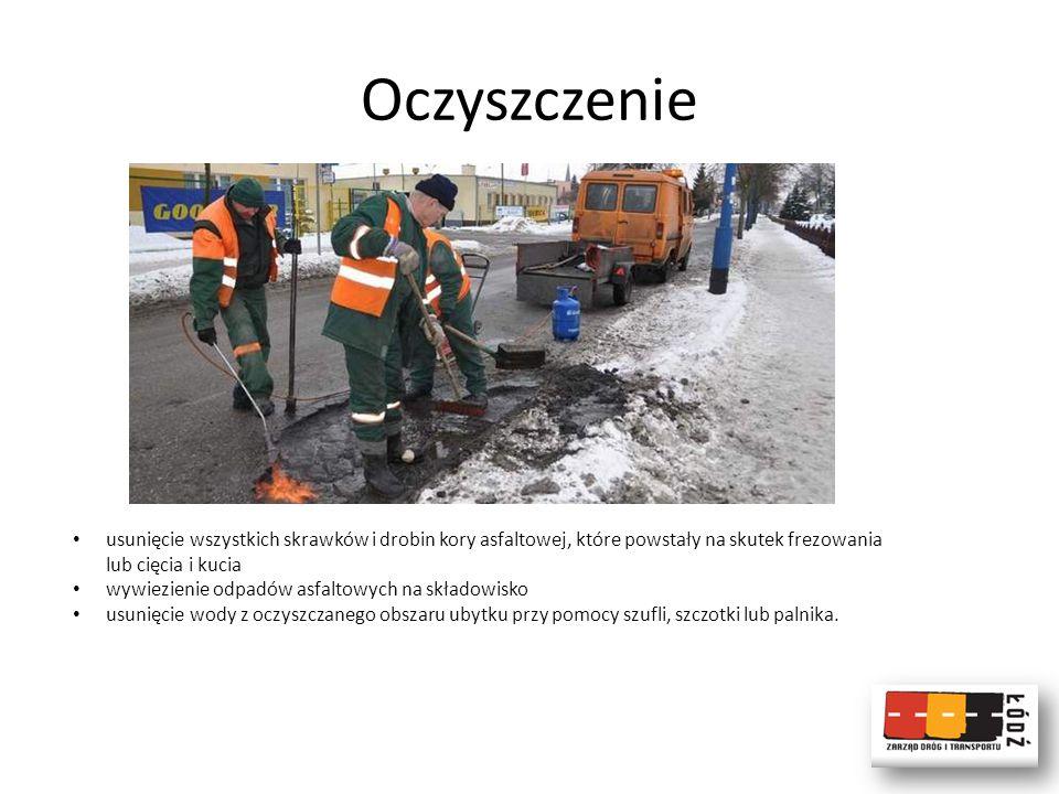 Remonty dróg będą wykonywać: -Zakład Remontowo Drogowy Barbara Wiśniewska, Łódź, (Dzielnica Bałuty) -Przedsiębiorstwo Drogowe Lambdar Sp.