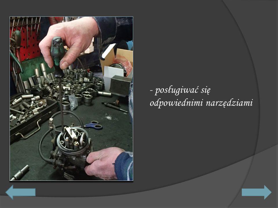 - wymieniać koło przy użyciu specjalnego sprzętu,