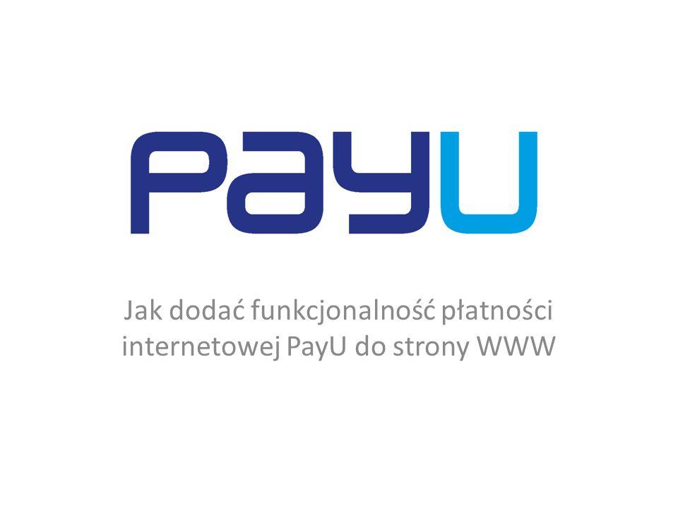 Upoważnienie – konto PayU W celu uzyskania konta PayU musimy mieć upoważnienie od Kwestora UŁ.