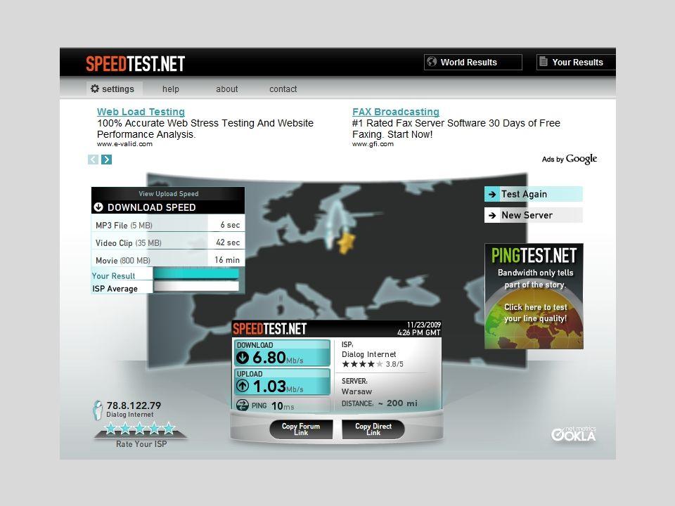 Porady marketingowe Uprościć oferty promocji usług dostępu do internetu.
