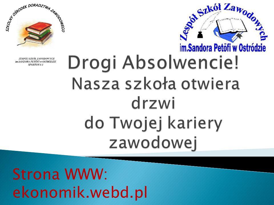 Strona WWW: ekonomik.webd.pl