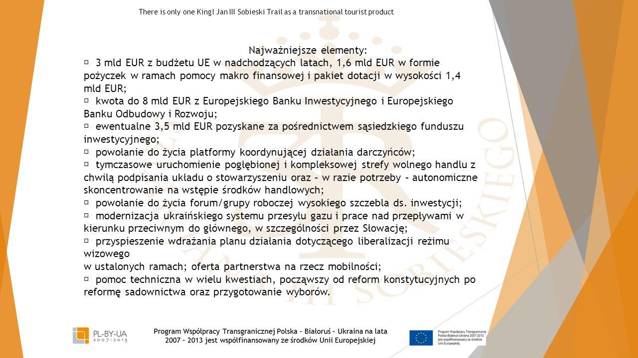 Najważniejsze elementy:  3 mld EUR z budżetu UE w nadchodzących latach, 1,6 mld EUR w formie pożyczek w ramach pomocy makro finansowej i pakiet dotac