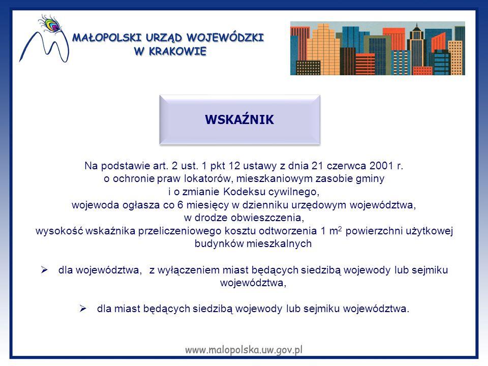Na podstawie art. 2 ust. 1 pkt 12 ustawy z dnia 21 czerwca 2001 r. o ochronie praw lokatorów, mieszkaniowym zasobie gminy i o zmianie Kodeksu cywilneg
