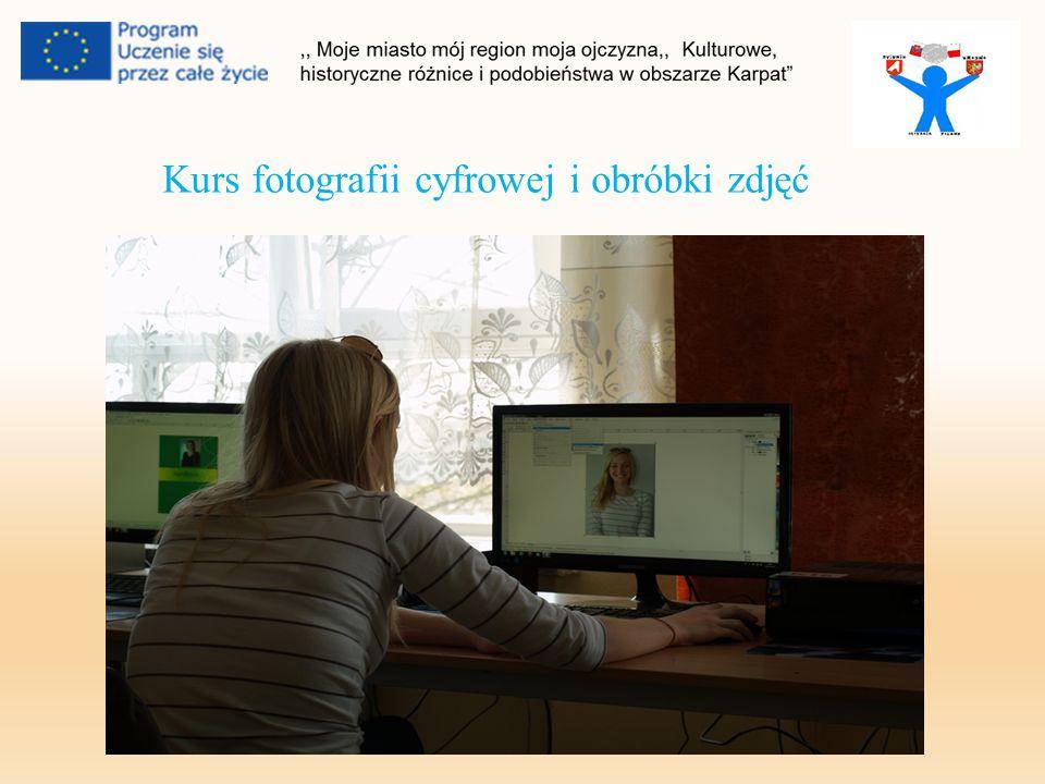 Kurs fotografii cyfrowej i obróbki zdjęć