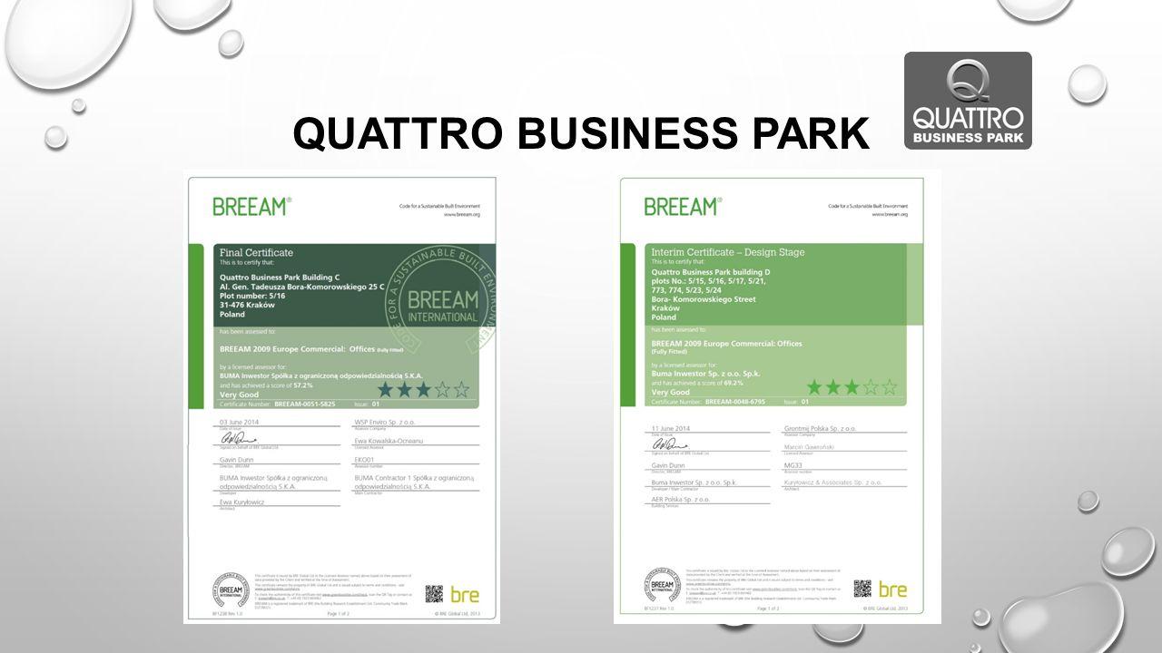 QUATTRO BUSINESS PARK