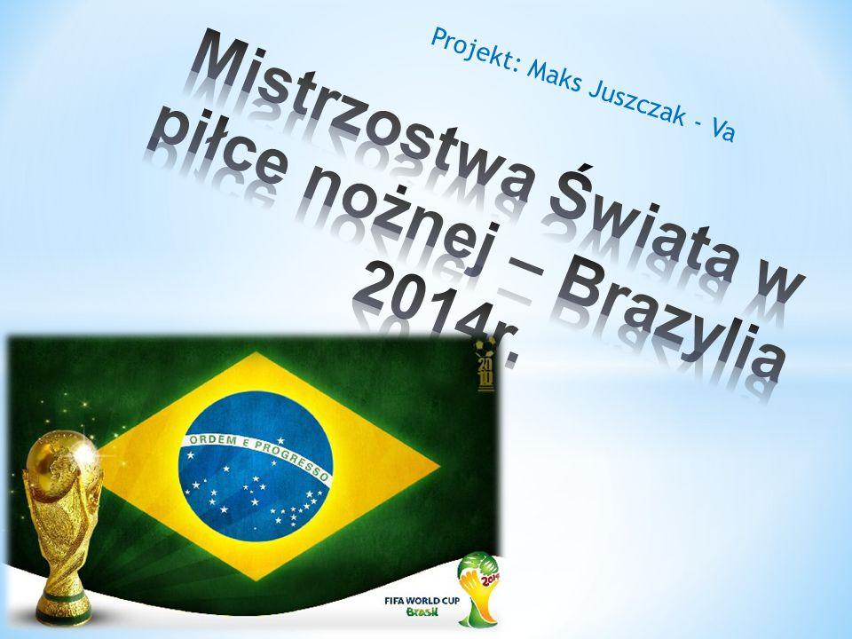 Oficjalna piłka mistrzostw świata w Brazylii 2014 r.