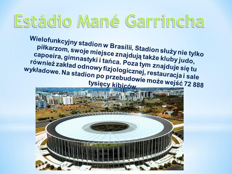 Wielofunkcyjny stadion w Brasílii, Stadion służy nie tylko piłkarzom, swoje miejsce znajdują także kluby judo, capoeira, gimnastyki i tańca. Poza tym