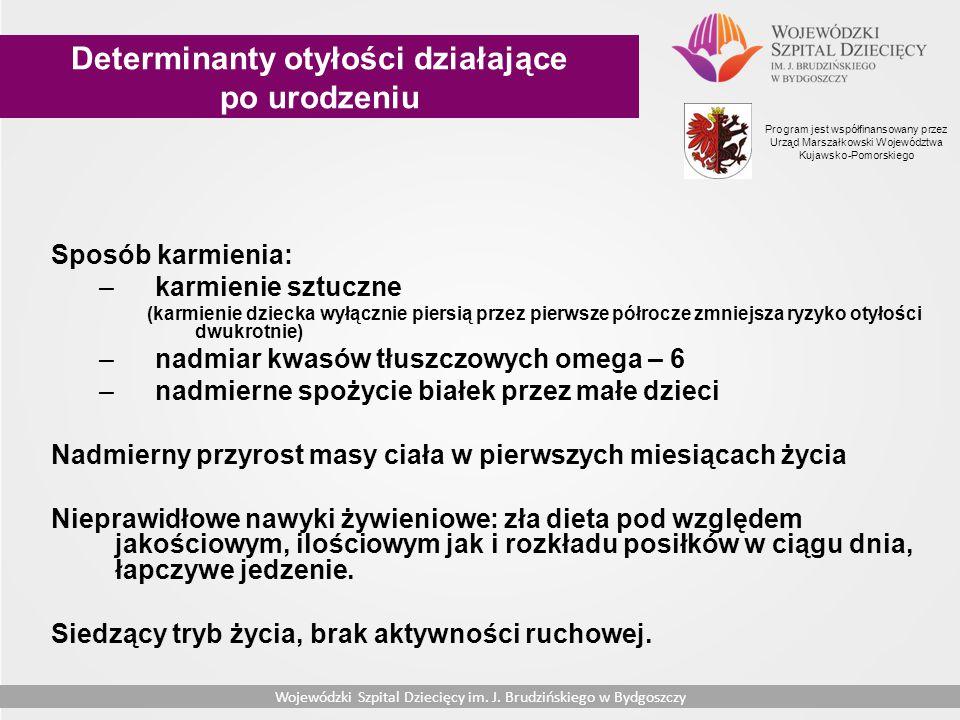 Wojewódzki Szpital Dziecięcy im.J Brudzińskiego w Bydgoszczy Wojewódzki Szpital Dziecięcy im.