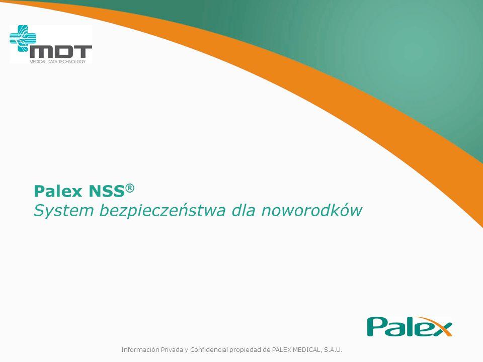 Información Privada y Confidencial propiedad de PALEX MEDICAL, S.A.U.