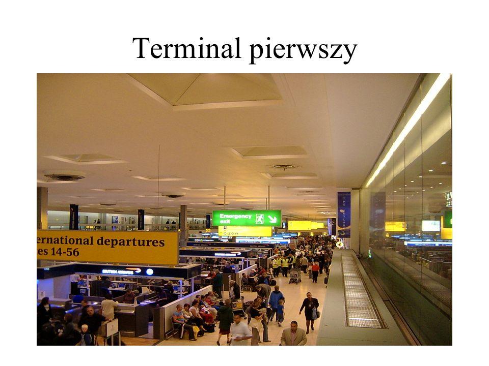Terminal pierwszy