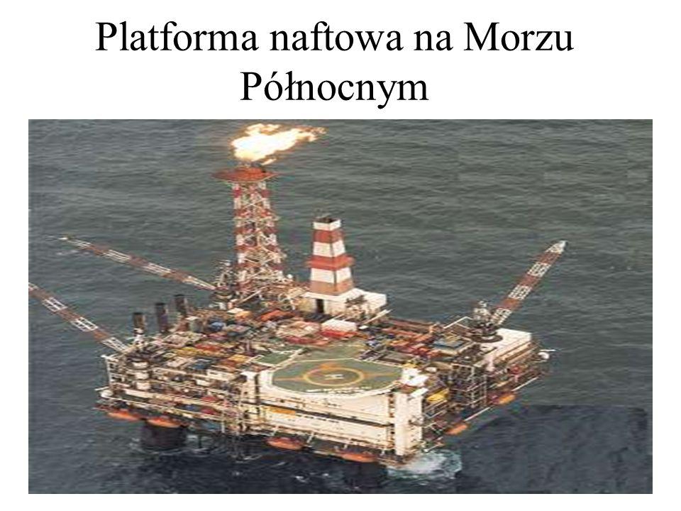 Platforma naftowa na Morzu Północnym