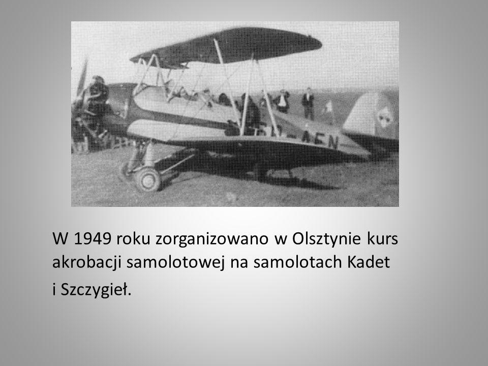 W pierwszych latach powojennych brakowało odradzającemu się lotnictwu sprzętu i doświadczonej kadry instruktorskiej.