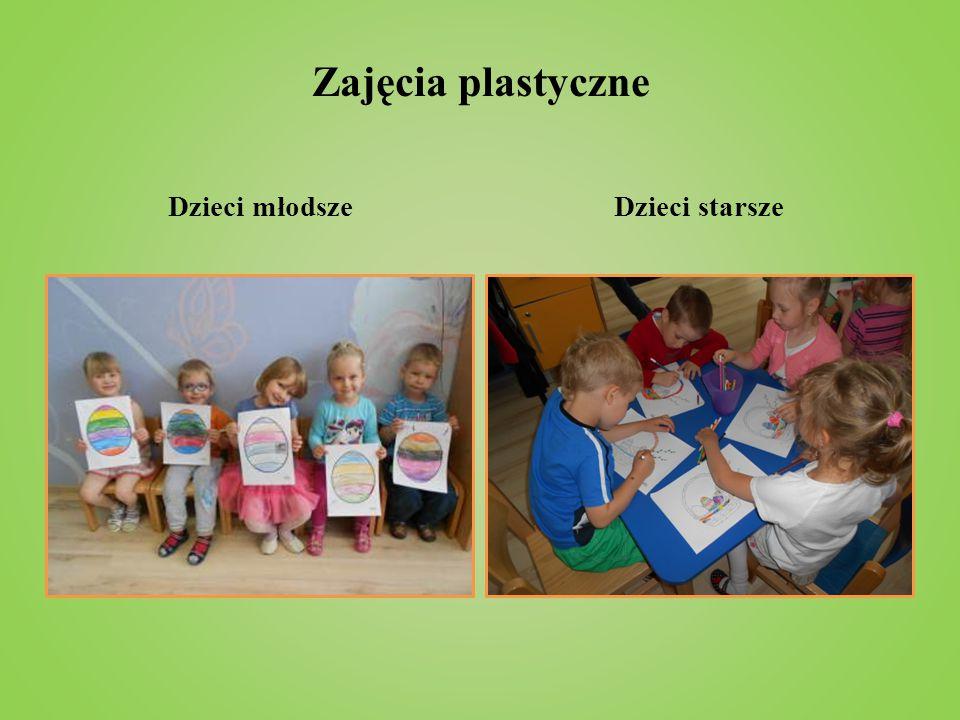 Zajęcia plastyczne Dzieci młodszeDzieci starsze