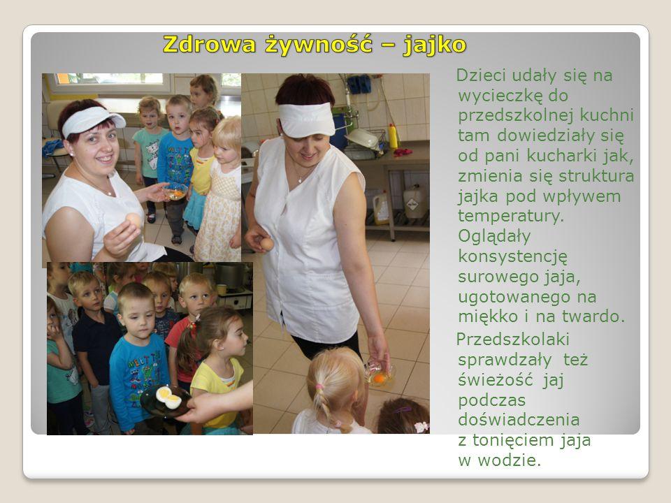 Dzieci nauczyły się rozpoznawać zdrowe jajka wg oznaczeń ekologicznych.